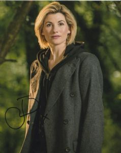 Jodie Whittaker - Signed 10 x 8. This is an original autograph not a copy 10313
